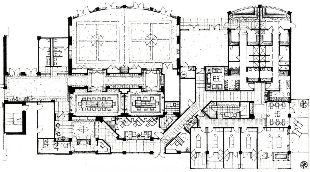 Concept Plan For The Spa At Cachecreek Hotel Brooks CA