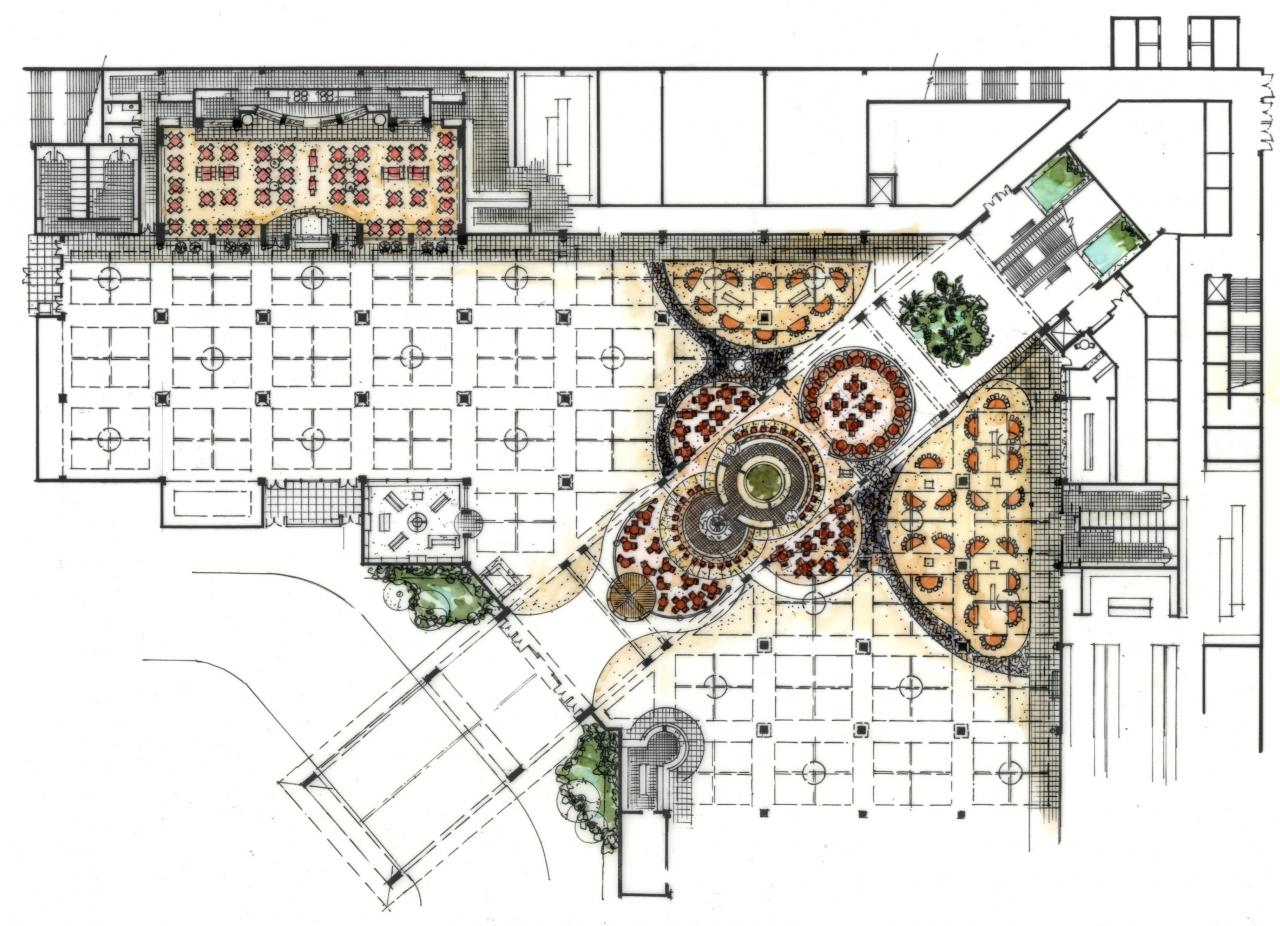 Concept Floorplan For Hawaiian Gardens Casino